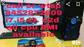 All parts computer available good condition all parts 1 year warranty
