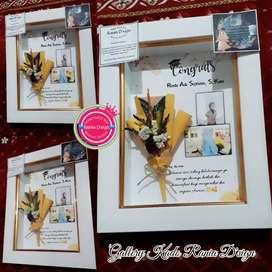 Gift Frame Box 3D Kado Ulang Tahun Wisuda Wedding dll