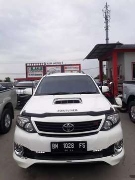 Fortuner 2014 G TRD solar manual
