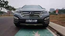 mobil murah promo akhir tahun Hyundai SantaFee Diesel AT 2012, Abu Abu