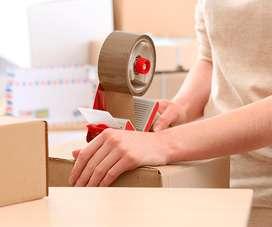 Staff Helper Packer Operator Packing Online Shop Jakarta Pusat