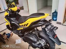 Yamaha aerox tahun 2018