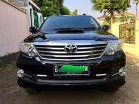 Toyota fortuner G vnt turbo 2.5 diesel 2015 pemakian 2016