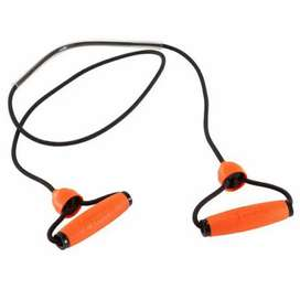 Resistance band. Home workout