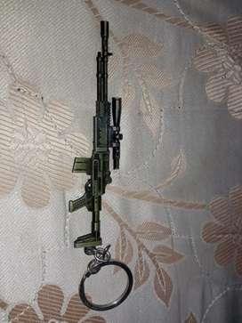 Small toy Metallic dragonov gun .