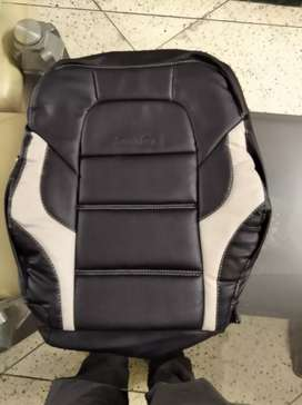 Bucket fit seat cover for new swift in black and beige