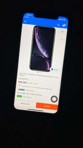 Apple IPhone XR(Black,64GB)Including Earpods,DataCable.
