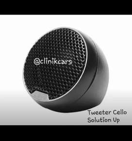 • Tweeter Cello Solution Up