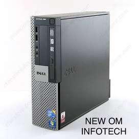 DELL i3 CPU/4GB RAM/500GB HDD/ 1 YEAR WARRANTY FULL/SLIM LOOK
