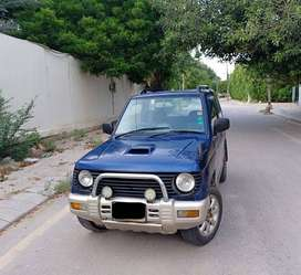 Mitsubiishi pajero...well,, well done jeep   one time investment