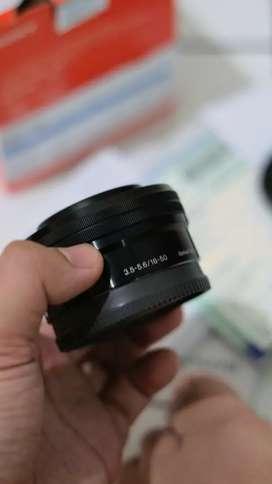 Lensa Kit Sony 16-50mm a6000