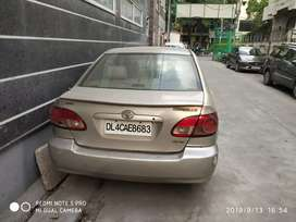 Toyota Corolla cng on paper 2 owner