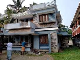 Thrissur, Avanoor, 3 BHK, stylish Villa.