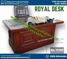 Leather office table Computer study workstation chair sofa bed set