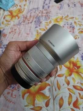 Rokinon (Samyang) 50mm f1.2 E-mount lens