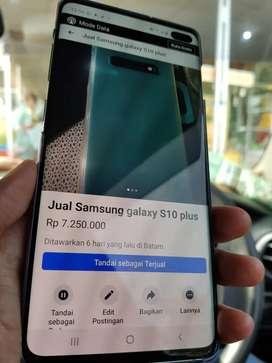 Jual Samsung Galaxy S10 Plus like new