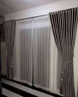 Korden mewah gorden hordeng wallpaper memikat termurah
