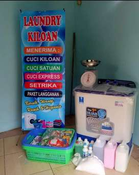 Kemitraan Mentari Loundry Kiloan murah no management fee