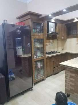 well maintained and corner two bed DD flat in Bismillah terrace