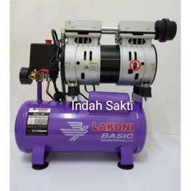 Mesin Kompresor Kompressor Compressor Angin Lakoni basic 9S Oilless