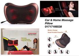 Car & Home Massager Pillow With Heat (CHM - 8018)