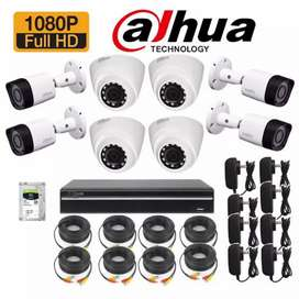 8 CCTV 2MP HD night vision cameras packages