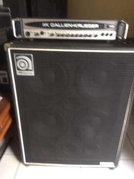head GK700rb & ampeg svt 410
