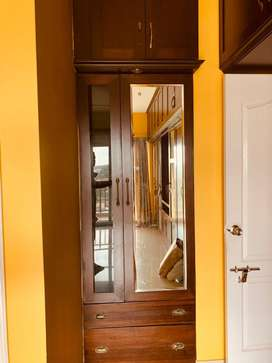 Semi furnished 2 BHK, East facing 1270 sq ft apartment