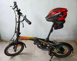 Sepeda Lipat Pacific 16 Rasa Baru Banyak Bonus