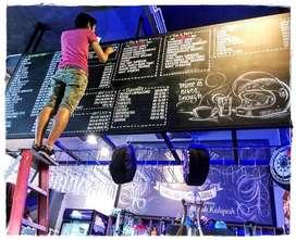 ~ MURAL, 3D - 2D Mural, LUKIS DINDING, desain & konsep art Grafiti - M