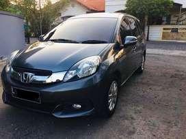 Honda Mobilio 1.5 E CVT Automatic 2014 Grey Plat L Tangan 1 Pribadi