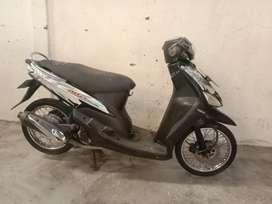 Yamaha Mio cw thn 2007 mesin normal BPKB ada, STNK ilang pjk off 2020
