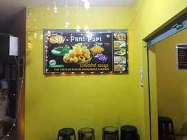 Boys wanted for Panipuri kings counter