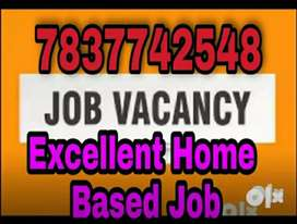 If you need any type of home based data entry work call me