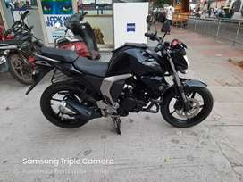 Auto India 18 yamaha fzs Black showroom condition up to date