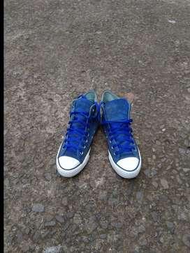 Converse ct high blue
