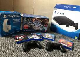 PlayStation 4 Console in good condition with all accessories for sale