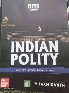 Indian polity- M Laxmikanth (5th edition)