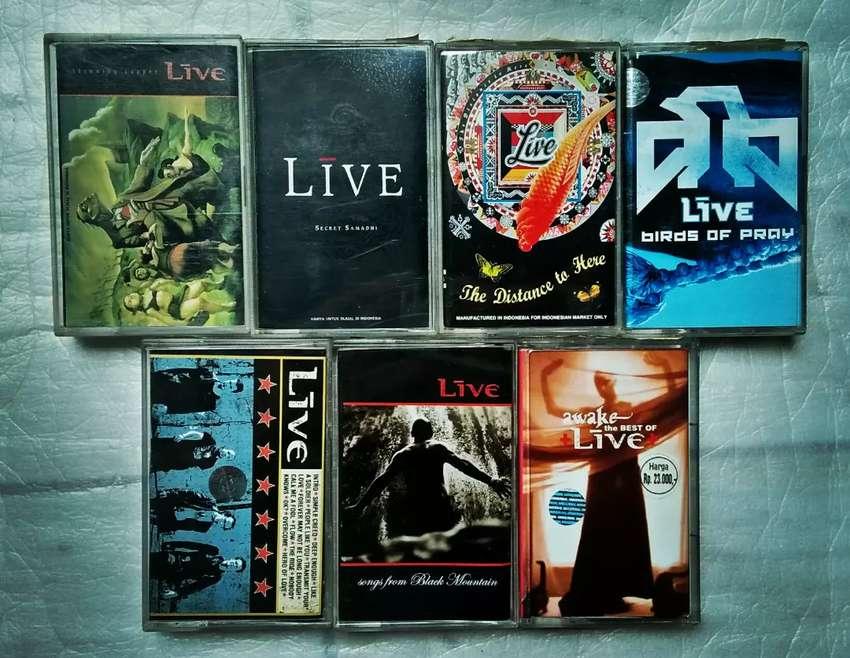 Paket 7 kaset LIVE