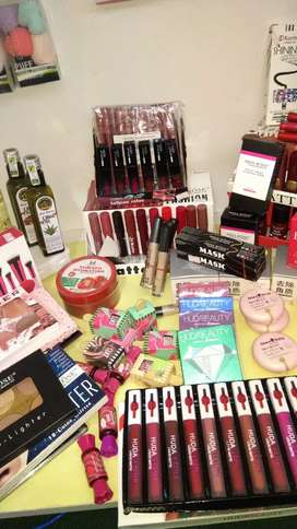 All cosmetic products available  at good prices
