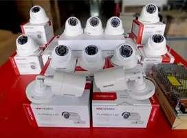 Murah dan terpercaya paket lengkap kamera CCTV 2MP full HD