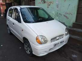 Good condition santro car L I Wheels