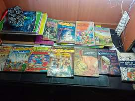 Comic books / story books