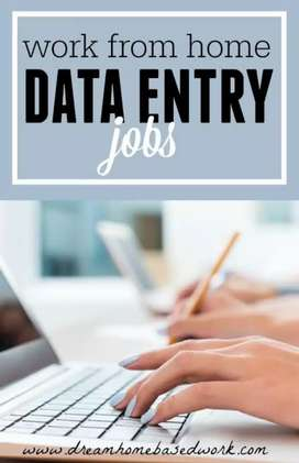 Urgent Requirement in data entry home based