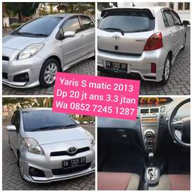 Bs dp 20 jt Yaris S matic limited 2013