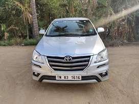 Toyota Innova 2.5 VX 7 STR, 2014, Diesel