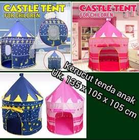 Kerucut tenda anak jumbo tent castle