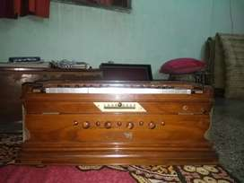 Professional grade changer harmonium with coupler of Reputed Brand