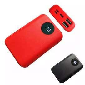 Powerbank input iphone,micro dan tipe C 9000mah