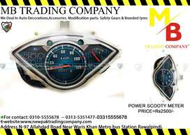 POWER METER FOR SCOOTY